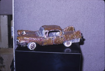 thumbnail image for Margaret Dodd sculpture of a 1956 Cadillac