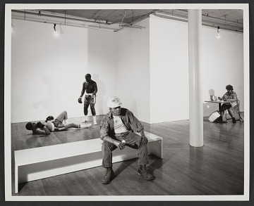 thumbnail image for Installation view of Duane Hanson exhibit at the OK Harris Gallery