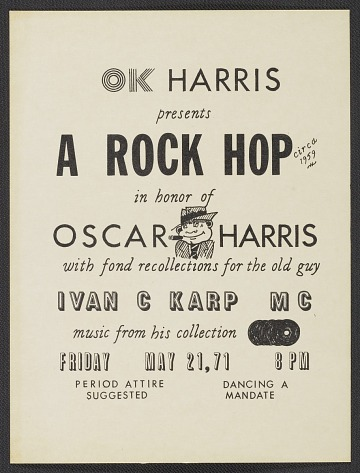 thumbnail image for OK Harris Gallery party invitation