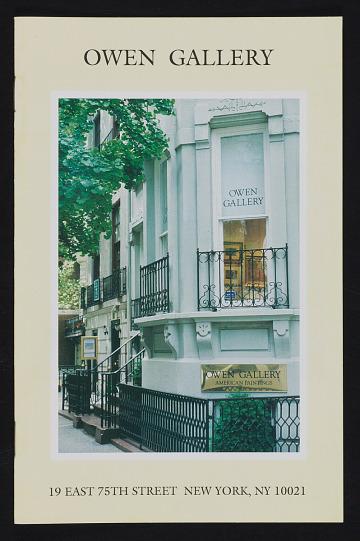 thumbnail image for Owen Gallery records, 1929-2010, bulk 1980-2010