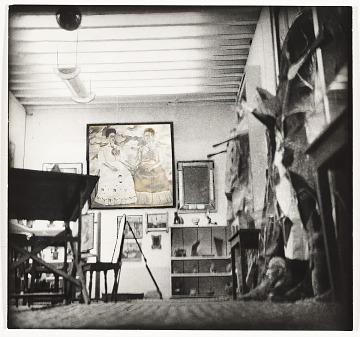 thumbnail image for Frida Kahlo's studio