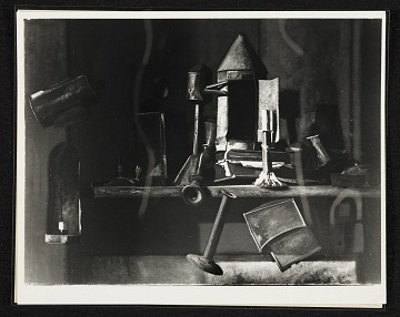 thumbnail image for John Frederick Peto's painting 'Lamps of Other Days'