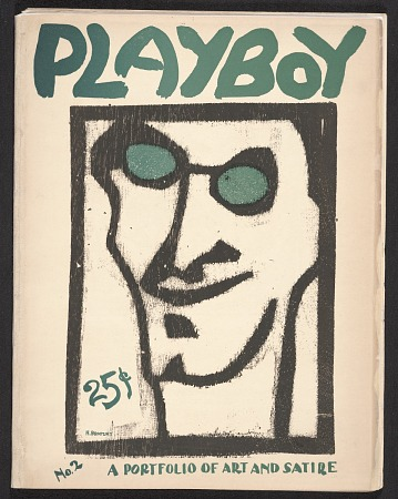 thumbnail image for Playboy: a portfolio of art and satire, no. 2
