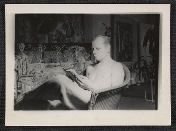 thumbnail image for Jackson Pollock reading