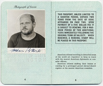 thumbnail image for Jackson Pollock's passport