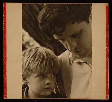 thumbnail image for Fairfield Porter with his son Laurence