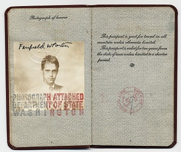 thumbnail image for Fairfield Porter's passport