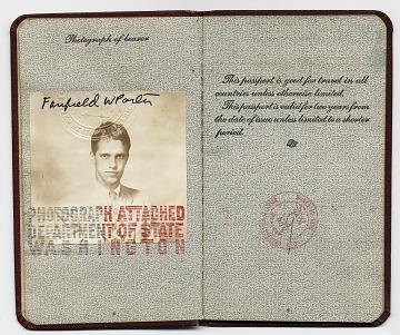 thumbnail image for Fairfield Porter's passport