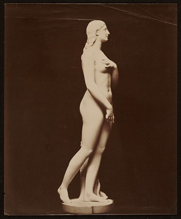 thumbnail image for original plaster of 'Eve Disconsolate'