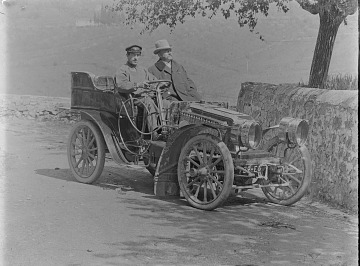 thumbnail image for Two men in a car