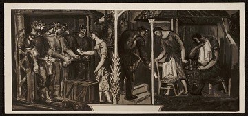 thumbnail image for Study for mural of laborers