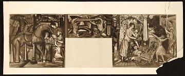 thumbnail image for Study for Josef Presser's mural <em>Pattern of Commonwealth</em>