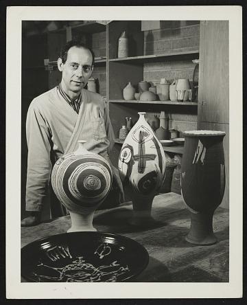 thumbnail image for Antonio Prieto papers, 1947-1967