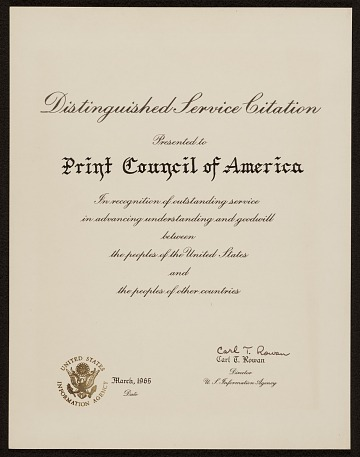 thumbnail image for Distinguished Service Citation