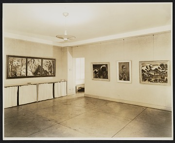 thumbnail image for Installation view of a German Expressionist exhibition at the Curt Valentin Gallery