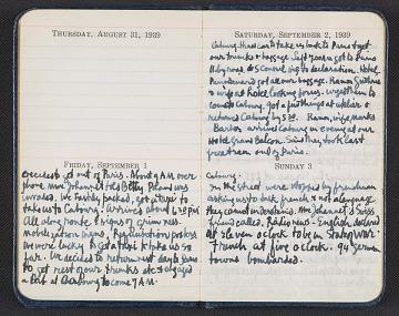 thumbnail image for Abraham Rattner diary