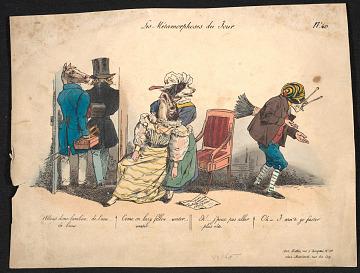 thumbnail image for Les metamorphoses du jour, no. 40
