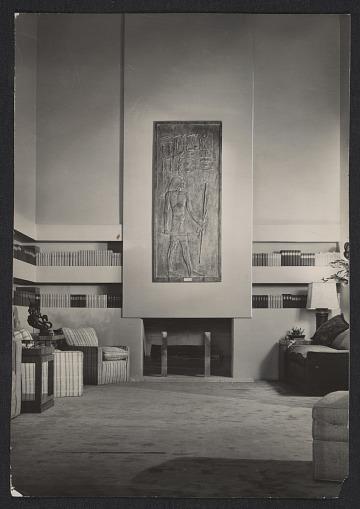 thumbnail image for Annenberg living room designed by T.H. Robsjohn-Gibbings