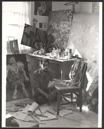 thumbnail image for Arturo Rodríguez in his studio