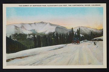 thumbnail image for Postcard of the Berthoud Pass, Colorado