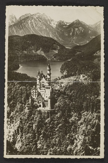 thumbnail image for Aerial view of Neuschwanstein Castle in Bavaria, Germany