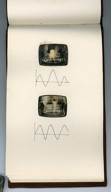thumbnail image for Artist book based on the <em>Triadic Tapes</em>