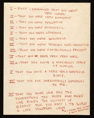 thumbnail image for Eero Saarinen letter to Aline B. (Aline Bernstein) Saarinen