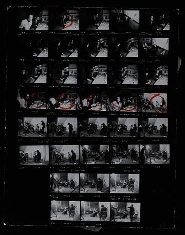 thumbnail image for Filming of Richard Serra and Robert Bell's <em>Prisoner's dilemma</em> performance at 112 Greene Street