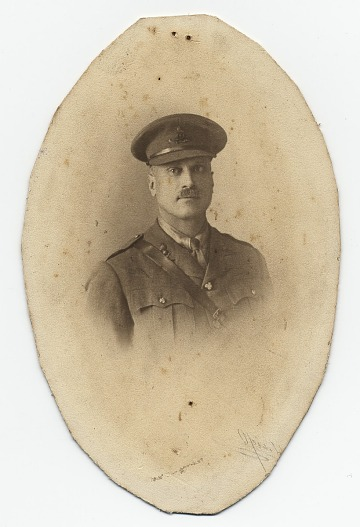 thumbnail image for Portrait of Walter Schofield in a military uniform