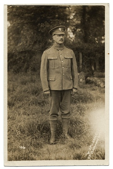 thumbnail image for Full Portrait of Walter Schofield in military uniform