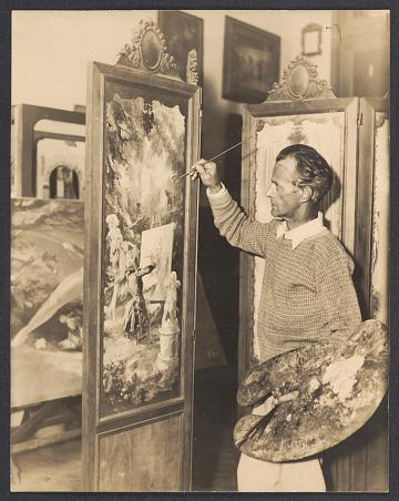 thumbnail image for Everett Shinn collection, 1877-1958