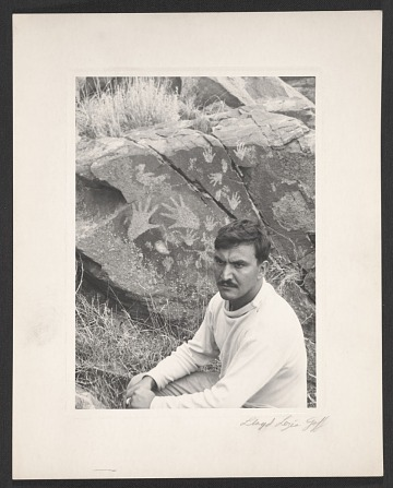 thumbnail image for Theodoros Stamos at Petroglyph National Monument in Albuquerque