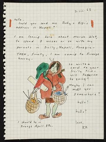 thumbnail image for Katharine Kean letter to Paul Suttman