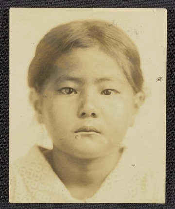 thumbnail image for Toshiko Takaezu as a child