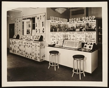thumbnail image for Meyercord Co. decal shop display