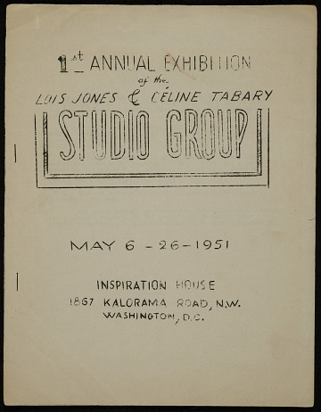 thumbnail image for 1st Annual Exhibition of the Lois Jones and Celine Tabary Studio Group