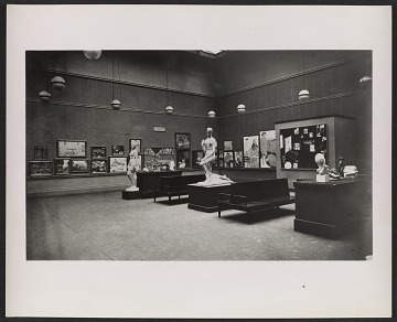 thumbnail image for Installation view of the Armory Show at the Art Institute of Chicago