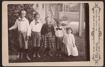 thumbnail image for Allen Tupper True with his siblings