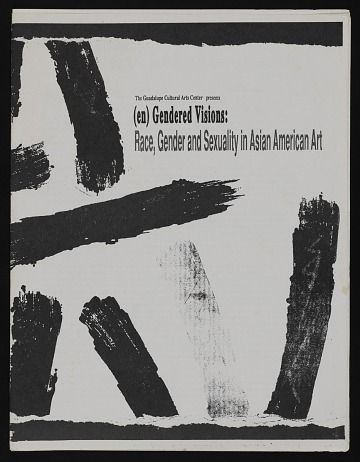 thumbnail image for Exhibition catalog for <em>(en)Gendered Visions: Race, Gender and Sexuality in Asian American Art</em>