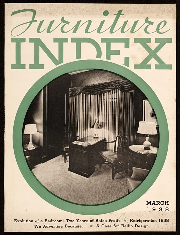 thumbnail image for Furniture Index (volume 74, number 4)