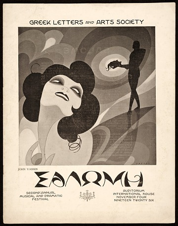 thumbnail image for Greek Letters and Arts Society program for <em>Salome</em>