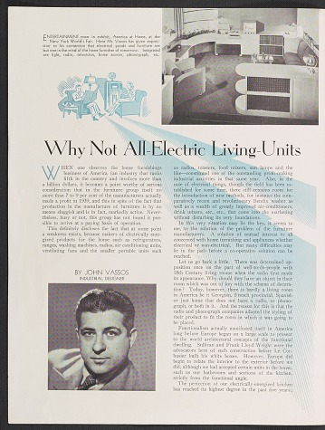 thumbnail image for <em>Why Not All-Electric Living-Units In the Home?</em>