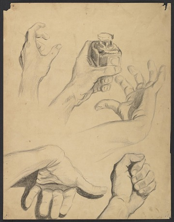 thumbnail image for Sketches of hands