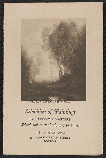 thumbnail image for Exhibition of paintings by Barbizon Masters
