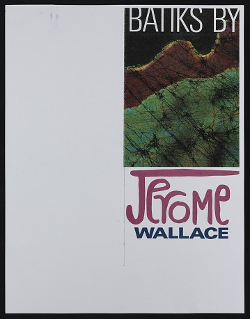 thumbnail image for <em>Batiks by Jerome Wallace</em> exhibition catalog
