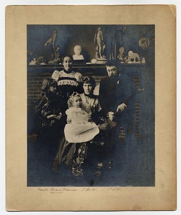 thumbnail image for Olin Levi Warner papers, 1857-1962, bulk 1857-1899