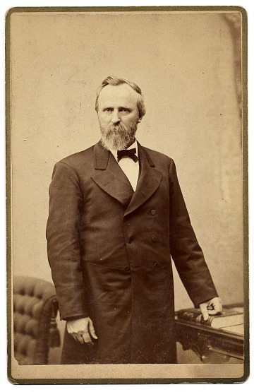 thumbnail image for Portrait of President Rutherford B. Hayes.