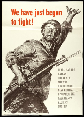 thumbnail image for We have just begun to fight