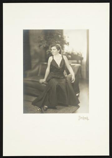 thumbnail image for Katharine Lane Weems in evening dress