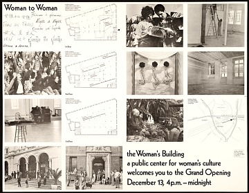 thumbnail image for <em>Woman to woman</em> exhibition poster